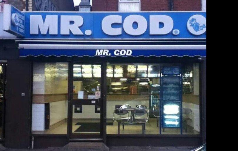 Mr. Cod - Whitley Street